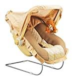 Goyal's 12 in 1 Premium Musical Baby Feeding Swing Rocker Carry Cot Cum