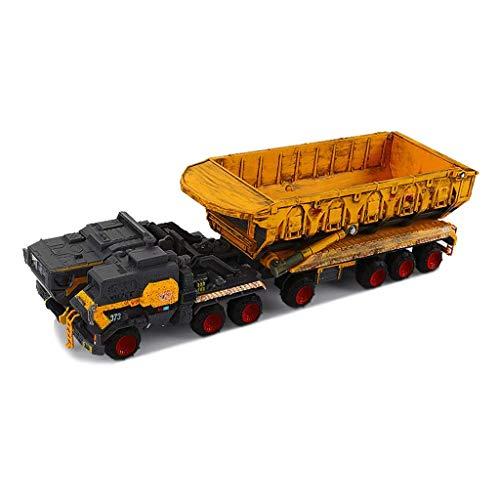 XHAEJ Modelo de automóvil Modelo de vehículo de vehículos de aleación Cassette blindado Modelo Camión Modelo blindado Transporte vehículo Modelo de Juguete colección Regalo 1: 144
