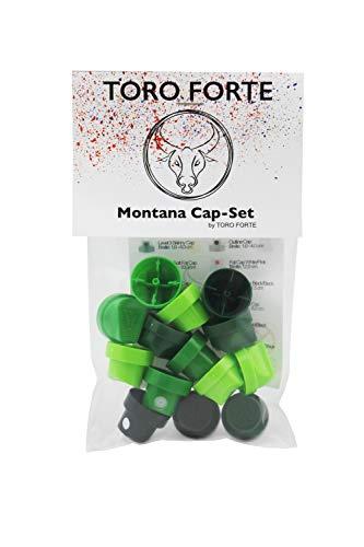 Montana Cap-Set 14 Stück BASIC PACK by Toro Forte
