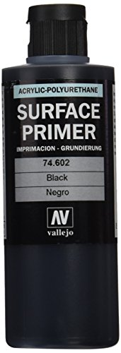 Vallejo Surface Primer Black 200ml