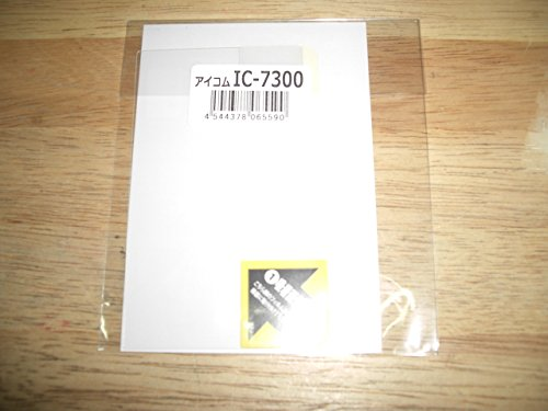 SPF-IC7300/R8600/9700/705 CQオームオリジナル液晶保護シート【対応】 IC-7300/IC-R8600/IC-9700/IC-705 品