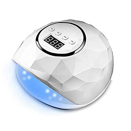 LED UV Nageltrockner intelligenter Lampenfunktion Gelnägel 72W Nageltrockner schnell aushärtend...