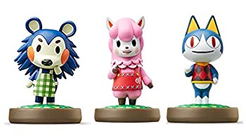 Amiibo 3 Pack Set [Mabel/Rover/Reese]   Animal Crossing Series  for Nintendo Switch - Switch Lite - WiiU - 3DS -  Bulk Packaging …
