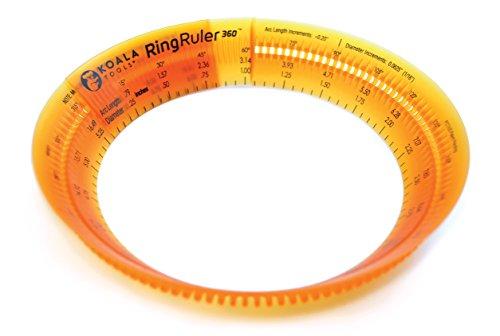 "KOALA TOOLS | Ring Ruler 360 - Circle Stencil & Templates Tool | 3""- 6"" Adjustable Diameter - Geometric Tool for Drawing Circles"