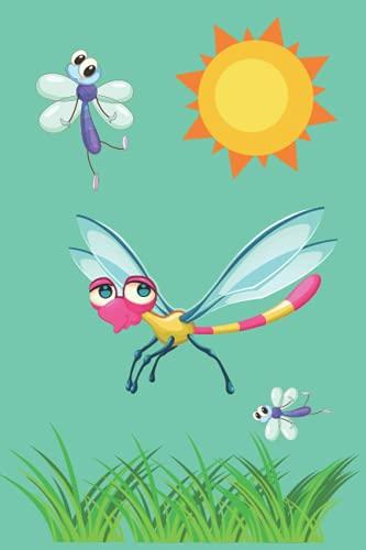 Notebook Dragonfly: Beautiful School Journal Dream Dragon