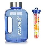 Best Gallon Water Bottles - XBOTTLE Water Jug, Tritan Half Gallon Water Bottle Review