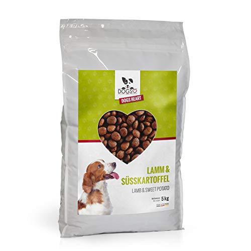 DOGS-HEART Lamm & Süsskartoffel 5kgGetreidefreies Hundefutter mit hohem Fleischanteil - ohne Zusatz von Zucker, Mais oder Weizen