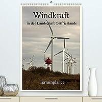 Windkraft in der Landschaft Ostfrieslands / Terminplaner (Premium, hochwertiger DIN A2 Wandkalender 2022, Kunstdruck in Hochglanz): Der Fotograf Rolf Poetsch zeigt hier in dreizehn grossartigen Fotos die Windkraftanlagen in der ostfriesischen Landschaft. (Planer, 14 Seiten )