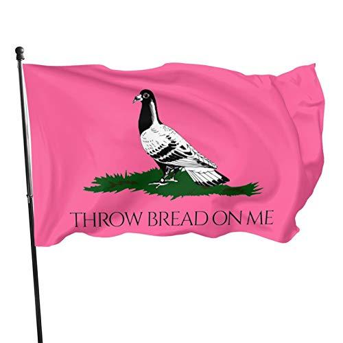 Voglawear Throw Bread On Me 3x5ft Garden Flag, Home Flag, Outdoor Lawn Decoration Banner