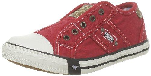 MUSTANG Unisex Kinder 5803-405-5 Slip On Sneaker, Rot (Rot 5), 37 EU