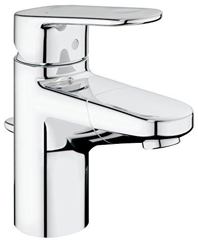 GROHE Europlus | Badarmatur - Einhand-Waschtischbatterie, S-Size, herausziehbarer Auslauf | chrom | 33155002