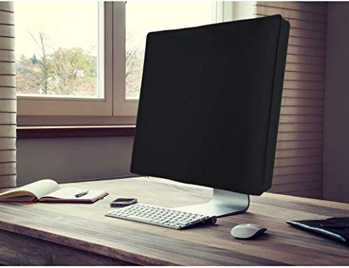 Dorca Monitor Dust Cover for HP All-in-One 24-df0215in 23.8-Inch FHD with Alexa Built-in - Black