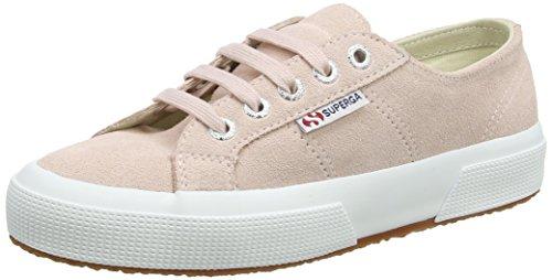 SUPERGA 2750 SUEU, Sneaker Bambina, Rosa Rosa Pelle, 35.5