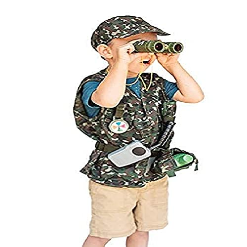 Dress-Up-America Soldier Role-Play Set - Army Costume For Boys And Girls, Ages 3-10