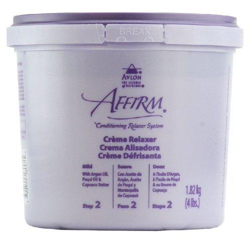 Avlon Affirm Creme Relaxer - 4 lb - Control : Mild (Time Release Sodium Hydroxide) by Avlon Hair Care