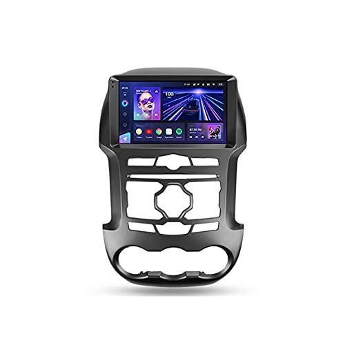 Amimilili CC3 Android 10 MultimediaPlayer per Ford Ranger 3 2011-2015 Radio GPS Navigazione con Bluetooth WiFi Controllo del Volante DSP Carplay Telecamera Posteriore,8core 4g+wif: 3+ 32g