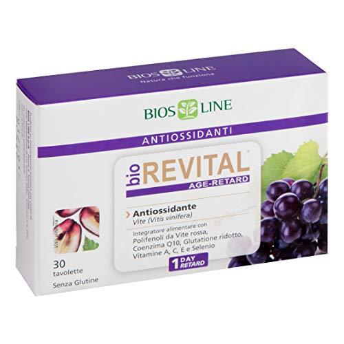 Integratore Alimentare Antiossidante Biorevital 30 Tavolette