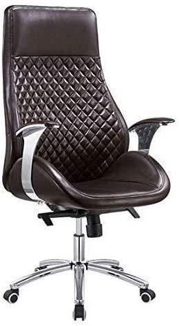 G.S.N. GSN Executive Recline Schwenker-Büro-Schreibtisch-Stuhl, Multifunktions-PU-Leder mit hohen Rückenlehne Ergonomische Adjustable Aufgaben-Stuhl mit großem Sitz Kippfunktion Bürostuhl Sessel