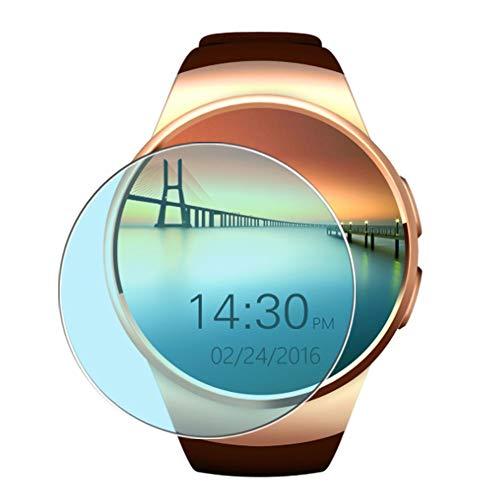 Vaxson 3 Stück Anti Blaulicht Schutzfolie, kompatibel mit Evershop Keoker K18 KW18 Smartwatch 1.3