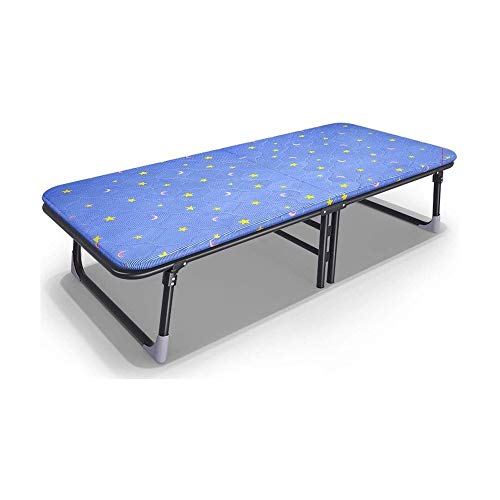 qwe XISABCS Adjustable Folding Bed, Heavy Duty Portable Metal Frame No Installation, Easy to Fold