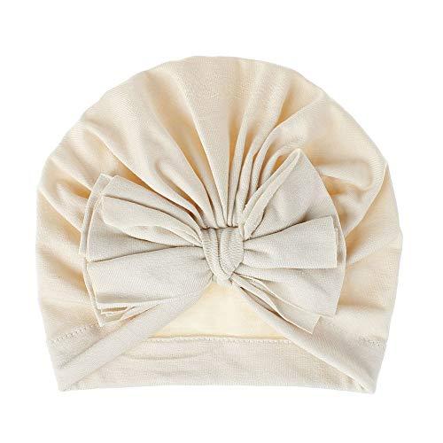 kkapp Hiver Chaud Bowknot BébéChapeau Unisex Bonnet extérieure Mignon Belles Cheveux Accessoires Bandeaux élastique Anniversaire Cadeau