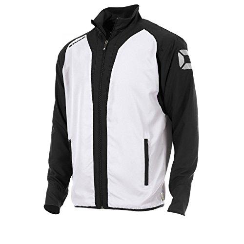 Stanno - Volleyball-Trainingsanzüge für Herren in weiß-schwarz, Größe L