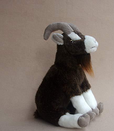 FENGHU Oveja De Felpa Juguete RARA Vida Real Sibirian Ibex Muñeca Juguete Educativo Animales De Felpa Boer Muñecas De Cabra Presente Juguetes Rellenos Modelo 11cm X 30cm