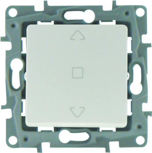 Legrand Niloe LEG96611 - Interruptor para persianas enrollables, color blanco