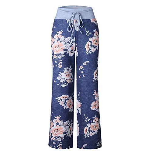 Pantalones Casuales De Mujer con Cordones De OtoñO E Invierno Pantalones De Pierna Recta con Estampado De Camuflaje Sueltos con Cordones A La Moda