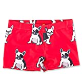 CUNYI Boys Swim Trunks Quick Dry Swimming Boxer Shorts, Red-Dog,...