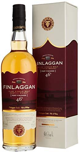 Finlaggan Port Wood Finish mit Geschenkverpackung Whisky (1 x 0.7 l)