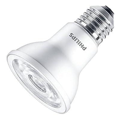 Philips 463661-6WPAR20/LED/840/F25/DIM SO 120V PAR20 Flood LED Light Bulb