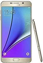 Samsung Galaxy Note 5 N920A 64GB at&T GSM Unlocked - Gold Platinum (Renewed)
