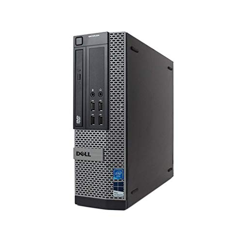 (Renewed) Dell Optiplex 7010 Desktop Computer - Intel Core i7 Up to 3.8GHz Max Turbo Frequency, 16GB DDR3, New 1TB SSD, Windows 10 Pro 64-Bit, WiFi, USB 3.0, DVDRW, 2X Display Port