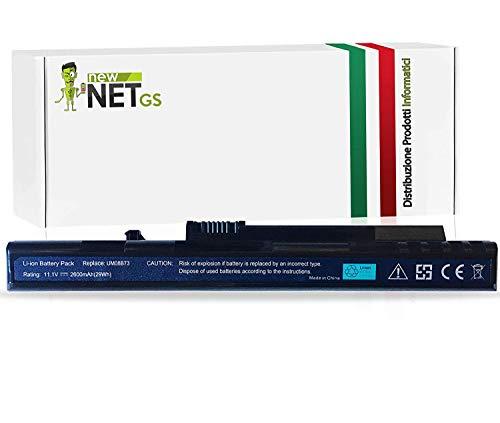 Bateria compatible para Acer Aspire One 571 (8.9), A110, A150, D150, D250, P531h, P531, ZG5 y códigos originales LC.BTP00.017 LC.BTP00.019 LC.BTP00.043 LC.BTP00 LC.BTP.BTP.BTP00000043 LC.B.B.B.BTP.BTP.BTP.BTP00000000043 TP00.0 45 LC.BTP00.046 LC.BTP00.070 LC.BTP00.071 M08A31 UM08A31 UM08A51 UM08A52 UM08A71 UM08A72 UM08A73 UM08A74 UM08UM08UM08 B71 UMA. 08B72 UM08B73 UM08B74 (2600 mAh Black)