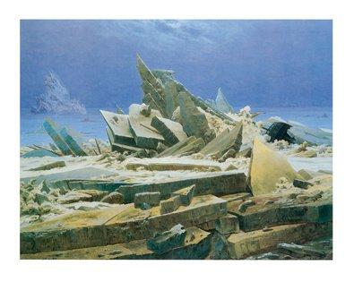 Caspar David Friedrich Das Eismeer - Póster, Ohne Rahmen