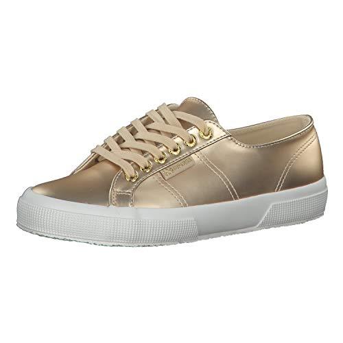 Superga Sneaker 2750 SYNTPEARLEDW S00FII0 974 Gold Platinum, Schuhgröße:37