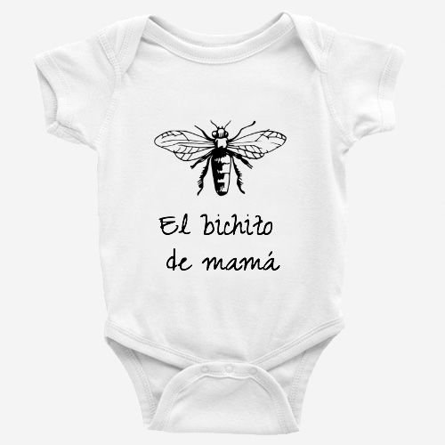 Bodys Bebe - diseño Original - Baby Bichito - 9 Meses