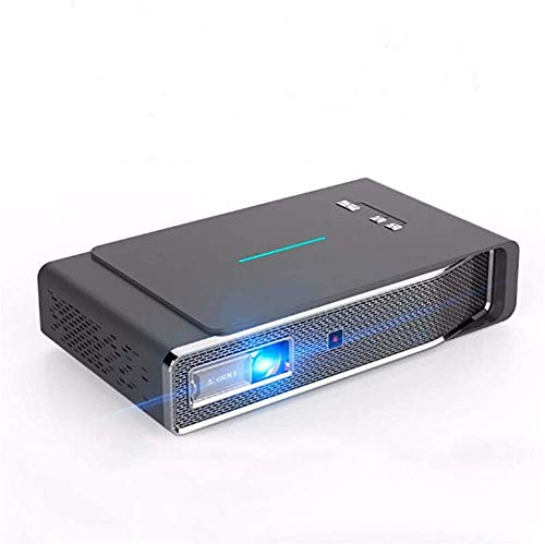 Projector helderheid DLP-projector 1280x800dpi 3800 Lumens 3D Full HD 1080P Wireless hetzelfde scherm LED Beamer Home Theater Cinema 2 GB + 16GB (Kleur: Foto kleur, Maat: Een maat) dljyy