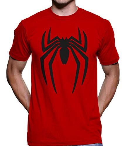Camiseta Homem Aranha Spiderman Venon Marvel 4118 (GG, Vermelho)