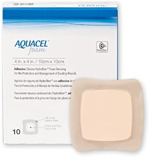 Aquacel Foam Dressing by Convatec ( DRESSING, AQUACEL FOAM, ADHESIVE, 4