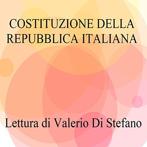 Costituzione della Repubblica Italiana copertina