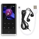 Eddwiin Reproductor de música - Pantalla táctil de 1.8 Pulgadas Mini Reproductor de Video Musical MP3 MP4 HiFi sin pérdidas portátil(2)