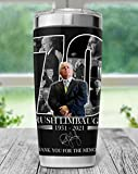 Rip Rush Limbaugh Tumbler, In Memory Of Rush Limbaugh We Love You Rush Stainless Steel Tumbler Customize Size