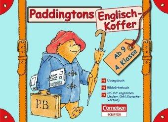 Englisch lernen mit Paddington: 4. Schuljahr, ab 9 Jahre - Paddingtons Englisch-Koffer: Komplett-Koffer. Mit CD, Bildwörterbuch und Übungsbuch