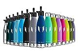 Super Sparrow Trinkflasche Edelstahl - Wasserflasche Doppelwandig Vakuum Isoliert Edelstahl - Kleiner Mund - 750ml - Auslaufsicher Sport Trinkflaschen   Ideale Flasche - 2 Deckel