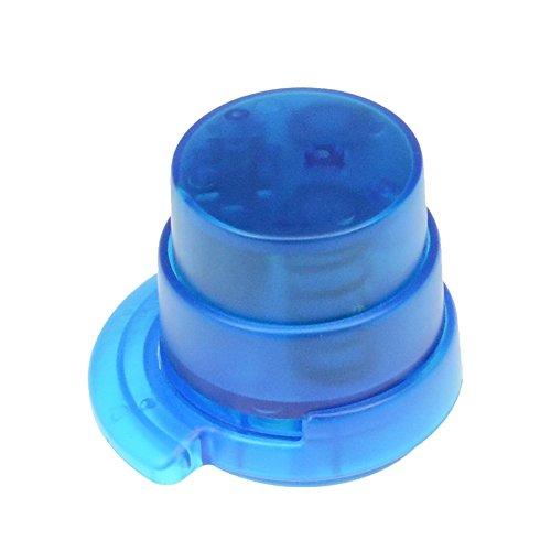bind klammerloser Hefter ORIGAMI Papiertacker ohne Klammern Falttechnik blau 70522-1 - 2