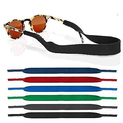 Amazon - 60% Off on 6 Pack Neoprene Glasses and Sunglasses Strap, Anti Slip Sport Eyewear Retainer Holder Strap