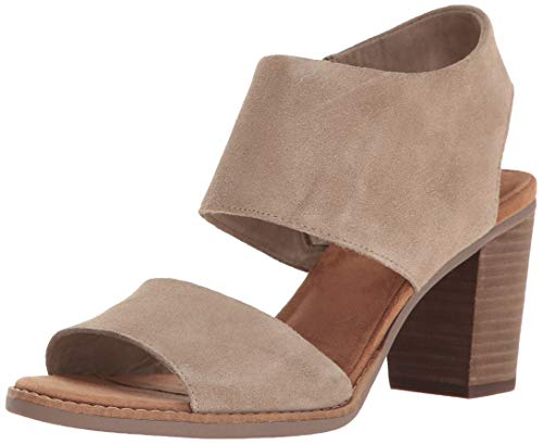 Toms Women's Majorca Cutout Sandal - Desert Taupe Suede, 6.5 B(M)...