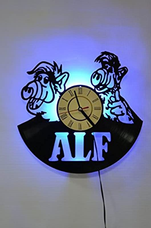 ALF Hero TV Series Style Design Wall Light Night Light Function TV Series Original Home Interior Decor Wall Lamp Perfect Gift Blue